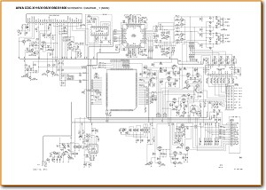 Aiwa CDCX-136 Automotive Audio Main Schematics - PDF & Tech Help* | English