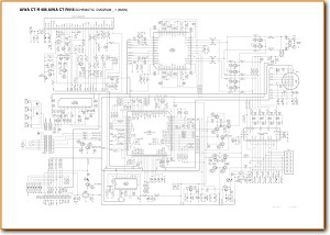 Aiwa CTR-408 Automotive Audio Main Schematics - PDF & Tech Help* | English