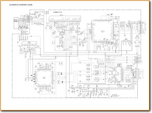 Aiwa CTX-258 Automotive Audio Main Schematics - PDF & Tech Help* | English