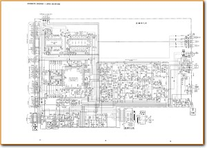 Aiwa GENH-1000 Amp Receiver Main Schematics - PDF & Tech Help* | English