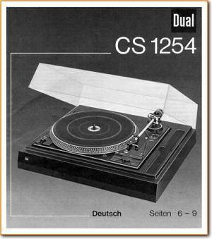 Dual Cs 1254 Turntable Record Player On Demand Pdf