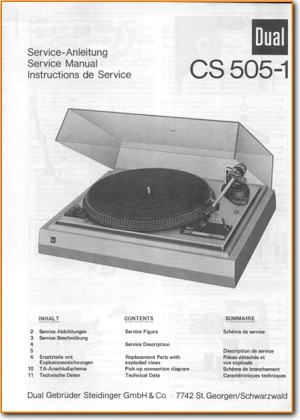 Dual Cs 505 1 Turntable Record Player On Demand Pdf