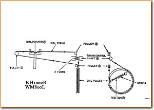 Hitachi KH-1002-R Portable Stereo Main Schematics - PDF & Tech Help*    English