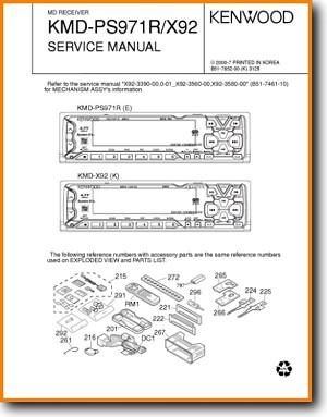 Kenwood KMDX 92 Automotive Audio