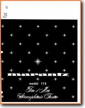 9fa2ebb76b Marantz 115 Tuner - On Demand PDF Download