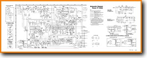 Technics ST-8080 Tuner Main Schematics - PDF & Tech Help* | English