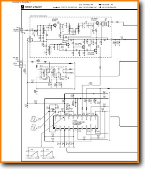 Technics STHD-501 Tuner Main Schematics - PDF & Tech Help* | English
