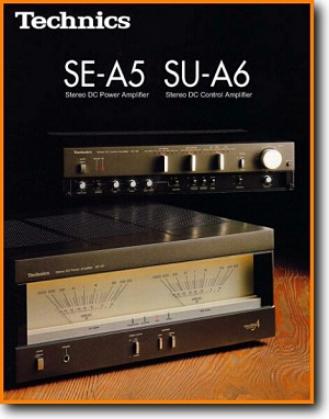 Technics SUA-6 Amp Receiver Main Brochure - PDF & Tech Help* | English