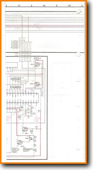 Technics SUG-91 Amp Receiver Main Schematics - PDF & Tech Help* | English