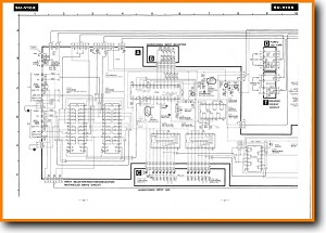 Technics SUV-10-X Amp Receiver Main Schematics - PDF & Tech Help* | English
