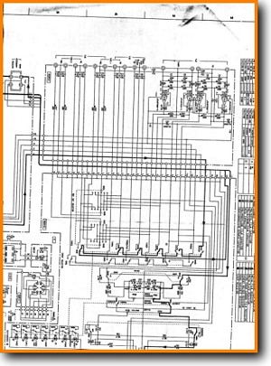 Yamaha AX-540 Amp Receiver Main Schematics - PDF & Tech Help* | English