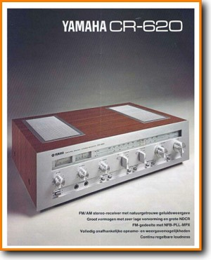 Yamaha CR-620 Amp Receiver Main Brochure - PDF & Tech Help* | English