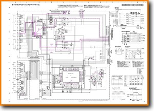 Yamaha HTR-5540 Amp Receiver Main Schematics - PDF & Tech Help* | English