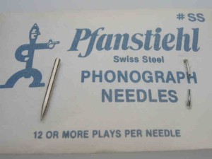 Swiss Steel Needle for Phonola, Victrola etc